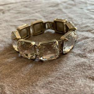J. Crew gem bracelet